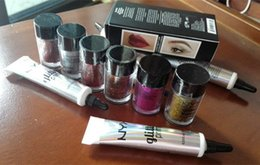Wholesale Eyeshadow Primer Set - New hot NYX Glitter Primer For Eyeshadow and Lipstick Lace and Body 25g with Primer Set