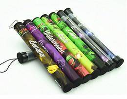 Wholesale E Cig Puffs - Disposable cigarette E shisha pen hookah pens 500 puffs natural vaporizer e cig green healthy cigarette vape shisha