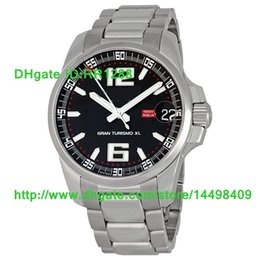 Wholesale Gt Xl - Luxury Mens Watches Brand New Black Dial Miglia GT XL Power Reserve Mens Automatic Watch Date Sports Wrist Watches