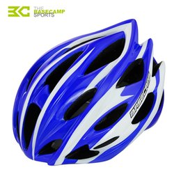Wholesale Pro Vent - BaseCamp brand pro bicycle cycling helmet Ultralight Integrally-molded 24 air vents bike MTB Road skateboard helmet BC-015 order<$18no track
