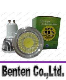 Wholesale mr16 lumens - 9W Led GU10 Light Bulbs 120 Degree Angle 600 Lumens Warm Cool White Led E27 E14 MR16 Spot Downlights 110-240V +CE ROHS LED LLFA