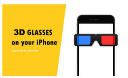 Wholesale Naked Glasses - 2016 3D VR Screen Protector for iPhone 6 6s 6Plus 6s plus Naked-Eye 3d Display Effect Tempered Glass Film 6s plus Without 3D Glasses