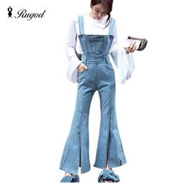 98158b199899 New Washed Denim Women Jumpsuit Rompers For Womens Denim Coverall Sexy Slim  Casual Long Jeans Female Jean Overalls Catsuit