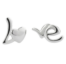 Wholesale Couples Earrings - Love Forever Stud Earrings Women Men Couple Earrings Fashion Bohemian Jewelry Vintage Engagement Wedding Stud Earrings New Arrival