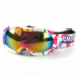 Wholesale Ski Sled - PROPRO Children Sports Snowmobile Glasses Kids Skiing Outdoor Motorcycle Eyewear Snowboard Skate Sled Goggles,Fit Age 5~13 years,D-205