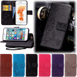 Wholesale Chinese Luck - Money Pocket Slot TPU Good Luck Clove Wallet Leather For Galaxy S3 S4 S5mini A310 A510 Galaxy Grand Prime G530 G360 Flip Cover