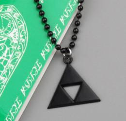 Canada Au détail 1 pcs Anime La Légende de Zelda le Triforce Zelda Triforce Collier En Métal Figure Pendentif Collier Livraison Gratuite ANPD1036 Offre
