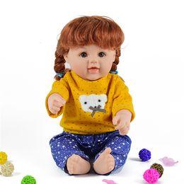 Wholesale Reborn Babies For Cheap - 18 inch lovely cheap dolls for girls toys vinyl reborn babies baby alive boneca para meninas children birthday gift