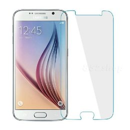 Wholesale Touch Screen Protection Film - 2.5D 9H Hardness Tempered Glass Screen Protection Film 0.26mm For Samsung S6 Edge CN388