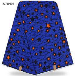 Wholesale Top Quality African Fabrics - Top seller wax fabric ankara wax print african high quality wax hollandais 100% cotton for wedding party dress The stars HL78DB052