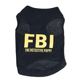 Wholesale fiber clothing - New Dog Apparel Fashion Cute Dog Vest Pet sweater Puppy Shirt Soft Coat Jacket Summer Dog Cat Clothes FBI