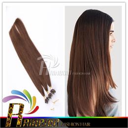 """Wholesale Micro Loop Indian Virgin - Best-Selling Remy Human Hair Extensions 100g Micro Ring Loop Hair 8A Virgin Hair 18""""-24"""" Straight Hair,any coor."""