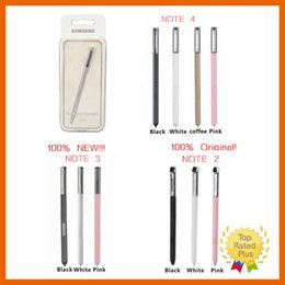 Wholesale Note2 Screen - Samsung Galaxy New Original Stylus S Pen Capacitive Touch Screen For Universal Mobile Phone Note2 Note3 Note4