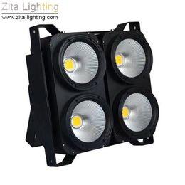 Conduttrice principale online-Zita Lighting LED Blinder Lights 4X100W Matrix COB Luci di fondo del pubblico Studio Stage Lighting Par Fixture DMX Theater DJ Effetti discoteca