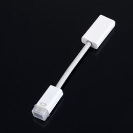 Projektorkabel für pc online-15cm Mini DVI MiniDVI Stecker auf HDMI Buchse Kabel HD 1080p Adapterkabel für Apple Macbook PC Monitor Projektor LCD TV Großhandel
