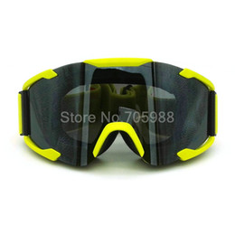 Wholesale Atv Skis - Super Motorcycle Bike ATV Motocross Ski Snowboard Off-road Goggles FITS OVER RX GLASSES Eye Lens
