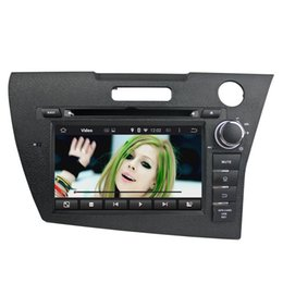 Wholesale Dvd Player For Honda - 7 Inch Capacitive multi-touch screen Touch Screen android 5.1 Car DVD Player for Honda CRZ WIFI GPS 3G BT By DHL Free