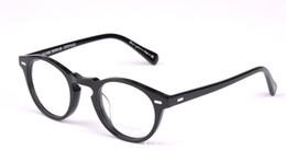 Wholesale Optical Frames Titanium For Woman - 2016 New Vintage optical glasses frame oliver peoples ov5186 eyeglasses Gregory peck ov 5186 eyeglasses for women and men eyewear frame