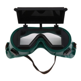 Wholesale Work Welding - New Welding Goggles Cutting Grinding Welding with Flip Up Glasses Lenses Welder Labour Working Safety Protective Eyewear