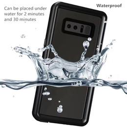 Canada Coque intégral étanche pour téléphone Coque antichoc étanche pour Samsung Galaxy S10 S10e Note 8 9 S8 PLUS S9 iPhone XS MAX 7 44mm Offre