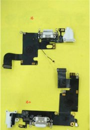Teléfono flex cinta online-2017 teléfono celular Flex Dock Connector Puerto de carga USB y auriculares Audio Jack Flex Cable Ribbon