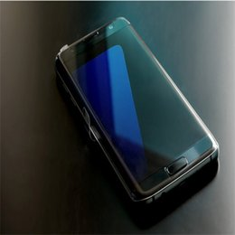 Wholesale Curved Metal - Goophone S7 EDGE Curve Screen Metal Frame 5.5 Inch Quad Core MTK6580 4GB + 1GB Android 6.0 Smartphone 3G 1920*1080 8MP