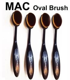 Wholesale Makeup Blusher Brush - Face Makeup Brushes Mc Oval Brush Eye Shadow Toothbrush Soft Mermaid Oval Brush Liquid Foundation Powder Concealer Blusher MaCosmetic Tool