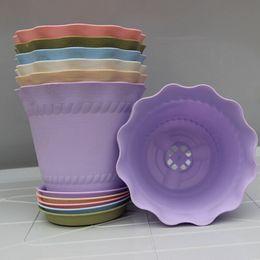 All'ingrosso europeo di protezione ambientale vaso di fiori in plastica vaso di fiori roma desktop vaso di fiori piante grasse pentole da
