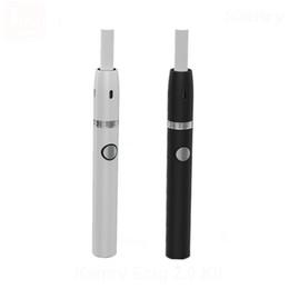 Batería baja led online-Kits de pluma Kamry Ecig 2.0 portátiles Batería de 650 mah y cartucho LED desechable con control de temperatura baja Función de limpieza DHL libre