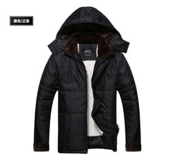 Wholesale Warm Villus - Fall-New Arrival Fashion Winter Down Jeckets Warm Thickening Detachable Hooded Inner Neck Villus Mid-Long Water-Repellent Coat H4307