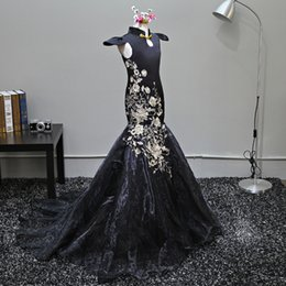 Wholesale Graduation Dresses China - F6 China style mermaid flower girls dresses for weddings Baby Party Dress kids prom dresses children evening gowns 2017