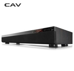 Wholesale Dvd Theater - CAV TM900 Bluetooth Soundbar 3.1CH DTS Surround Wooden Wireless Home Theater 3D Stereo Column Sound Bar Music For TV Coaxial AUX