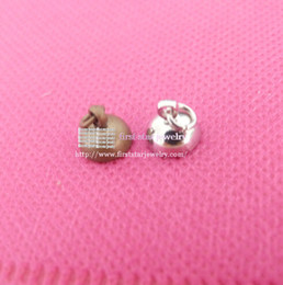 Wholesale Copper 8mm Jump - 8mm Bronze silver Top connector with jump ring for glass bubble necklace accessories