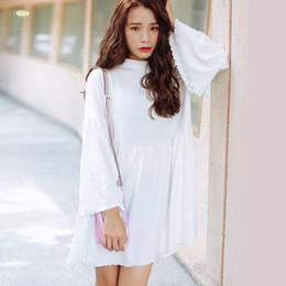 Wholesale Woman Korean Clothing Style - harajuku dresses 2017 korean style party kawaii new autumn dress women sexy plus size women clothing winter white sweet dress