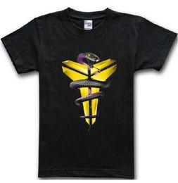 Wholesale Kobe Shorts Black - Wholesale-Black Mamba Men T-shirt Basketball Star Kobe Bryant Tees Fitness Gym Sport Jersey Hip Hop Short Sleeve T Shirt Camisetas AMD248
