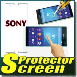 Wholesale Moq C - 9H Explosion Proof Premium Real Tempered Glass Guard Film Screen Protector For SONY Xperia C C3 C4 C5 E3 T2 T3 SONY Z3 Z4 Z5 MINI MOQ:100pcs