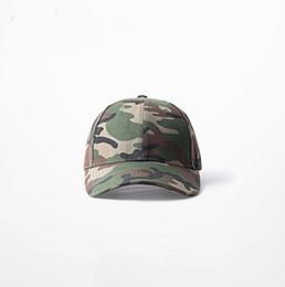 Wholesale Camo Snapbacks Free Shipping - High Quality Kanye West Army Camo Hat For Women Man Baseball Snapback Cap On Sale Free Shipping