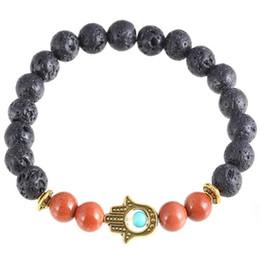Wholesale Wedding Products China - Natural Stone Bracelets For Women BraceletsNew Products Wholesale Lava Stone Beads Natural Stone Bracelet, Men Jewelry, Stretch Yoga Bracele