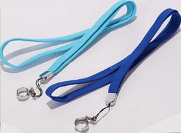 Wholesale Ego Lanyard C Clips - Ego neck lanyard o ring clips ego necklace string lanyard chain strap for ego series ego-t ego-c ego-w battery vapor pen ecig vape