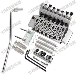 Wholesale Double Locking Bridge - 7strings Floyd Rose Tremolo Bridge Double Locking Pulled guitar strings Bridge Electric guitar Bridge guitar parts