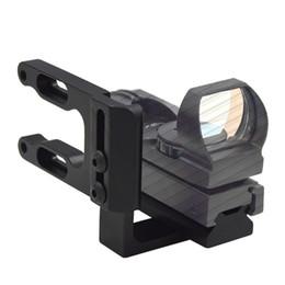 Wholesale Bracket Cnc - RL Archery Mini CNC Machined Bow Mount Red Dot Laser Reflex Scope Bracket fit Mathews Bowtech Bear all Compund Bow