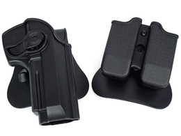 Wholesale Tactical Molle Sling - tactical gun holster molle magazine pouch defense pistol and magazine holster for M92 Airsoft(ht027)