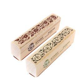 Vintage Design Le Meilleur Prix En Bois En Caoutchouc Fleur Dentelle Tampon Sceau Scrapbook Handwrite Artisanat De Mariage Pour La Décoration ? partir de fabricateur