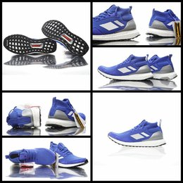Wholesale Medium Time - Consortium Ultra Boost Mid Run Thru Time Blue Footwear White BY3056 Mens Womens Running Shoes Size EU36-45 Top Quality Real Boost Wholesale
