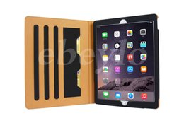 Wholesale Plastic Cases For Business Cards - iPad Pro 12.9inch Leather Case Best New Design Protector With Holder And Card Wallet 7 Colors 100% Fit For ipad pro