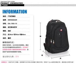 Wholesale Wholesale Organic Buttons - Saber backpack shoulder bag men's business computer bag female Korean tidal bag sports bag large high school students