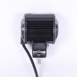 Montaggio spot online-Faretto da incasso 18W Luce di marcia a LED Lampada di guida fuoristrada SUV TRUCK Jeep Spot Luce di testa fuoristrada JEEP SUV UTE