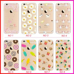 Wholesale Pattern Paint - Super Thin paint TPU case silicone case back case with pattern for iphone 6 7 8 X plus 4.7 5.5 inch