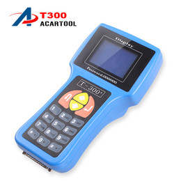 Wholesale Audi Makers - 2018 T300 Key Programmer t300 key programmer Latest English And Spanish V14.02 Professional Auto Key t300 Maker Rodan DHL Free Shipping