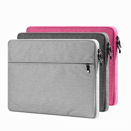 Wholesale Macbook Cover Sleeve - Newest Soft Laptop Sleeve Bag Protective Zipper Notebook Case Computer Cover for 11 13 15 inch For Macbook Air Pro Retina
